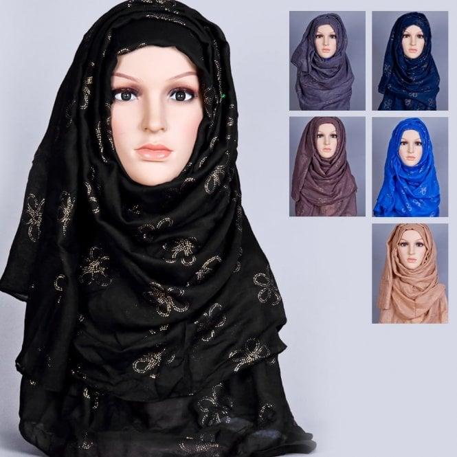 Jilbab/Hijab Scarf ML 6166