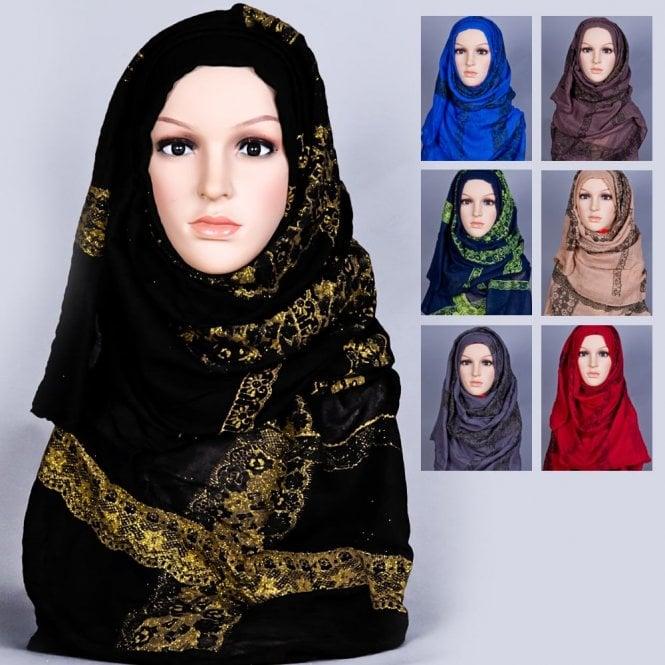 Jilbab/Hijab Scarf ML 6164