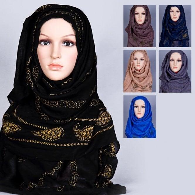 Jilbab/Hijab Scarf ML 6158