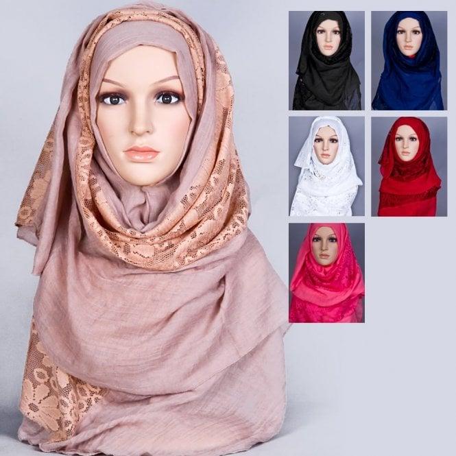 Jilbab/Abaya Scarf ML 6168