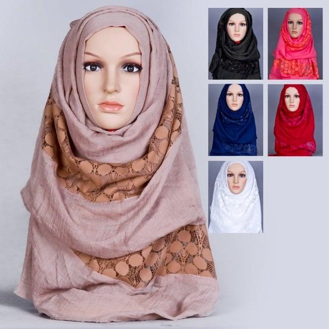 Jilbab/Abaya Scarf ML 6167