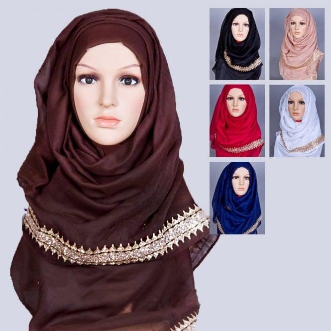 Jilbab/Hijab Scarf ML 6170