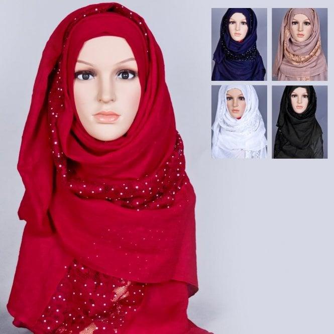 Jilbab/Hijab Scarf ML 6171