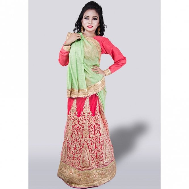 Lahenga Saree ML 2625