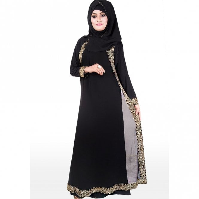 Umbrella Cut Abaya ML 31115
