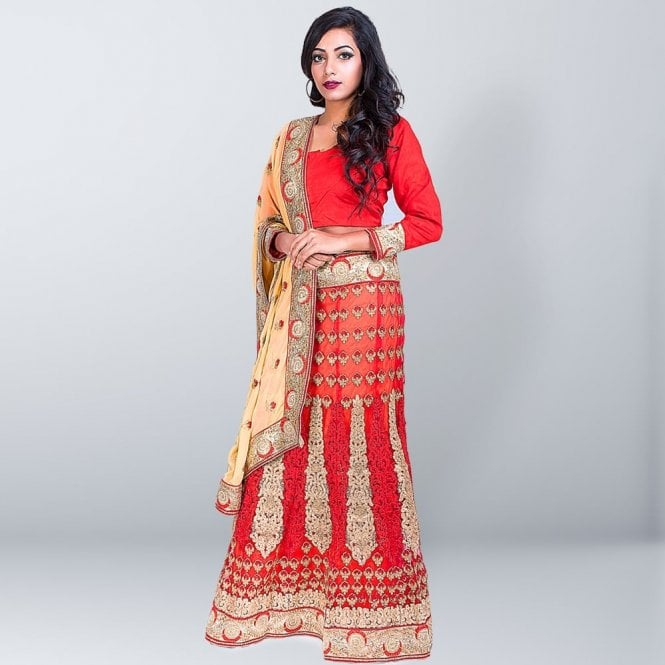 Lahenga Saree ML 2660