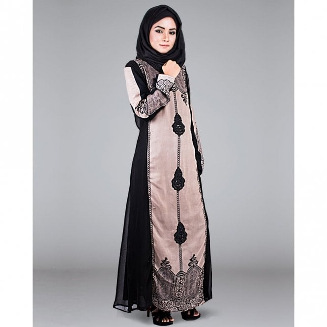 Umbrella Cut Abaya ML 31247