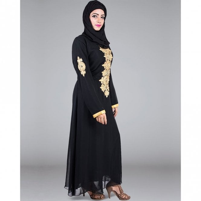 Umbrella Cut Abaya ML 31249