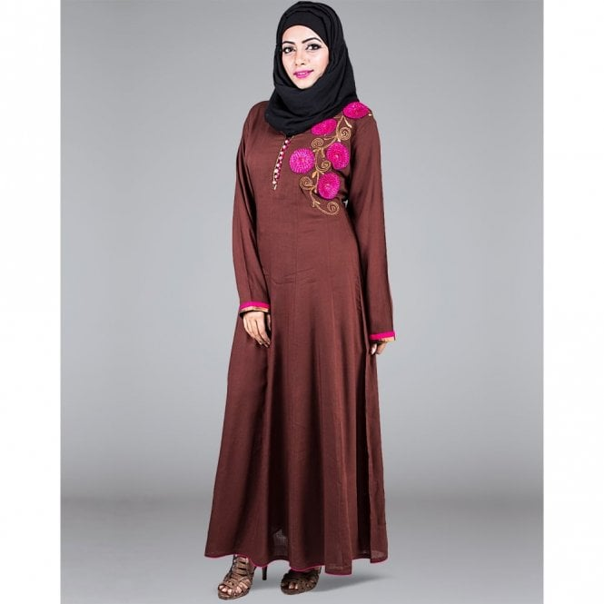 Umbrella Cut Abaya ML 31267