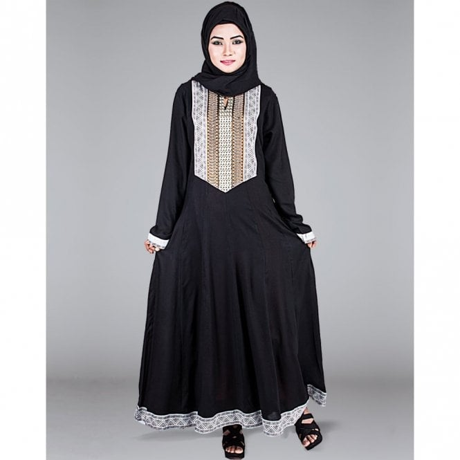 Umbrella Cut Abaya ML 31275