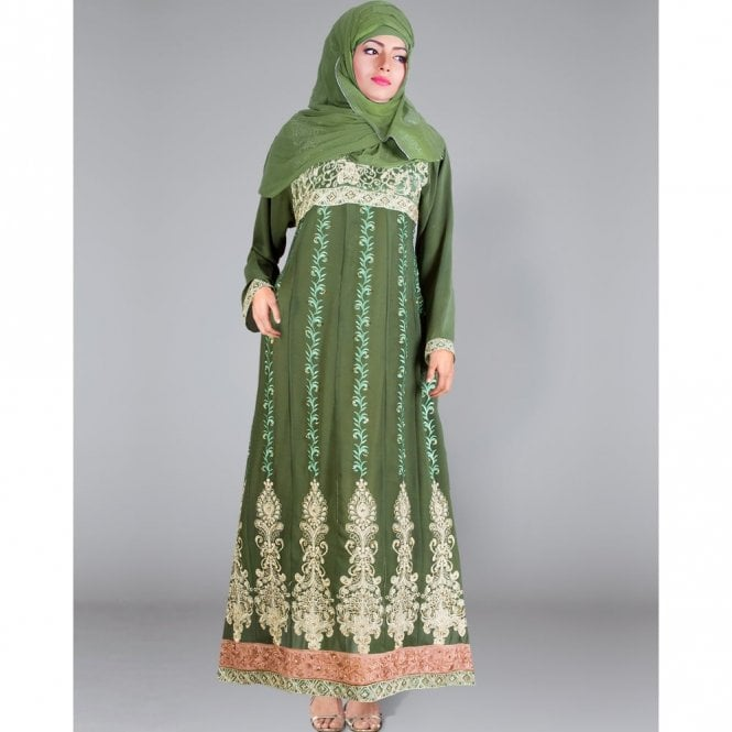 Gown/Jilbab ML 31170