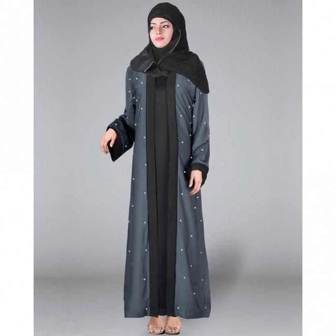 Jacket Style Abaya ML 31286