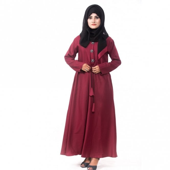 Umbrella Cut Abaya ML 31352