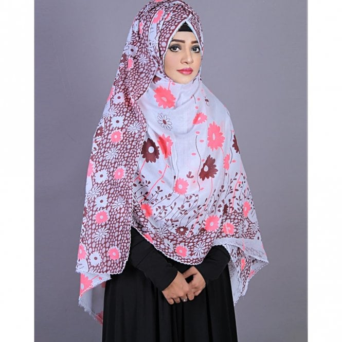 Jilbab/Hijab Scarf ML 6195 Prayer Chaddar/ Namaj-Er-Chaddar