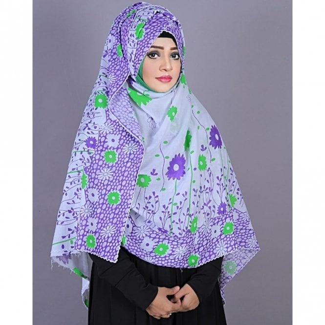 Jilbab/Hijab Scarf ML 6191 Prayer Chaddar/ Namaj-Er-Chaddar
