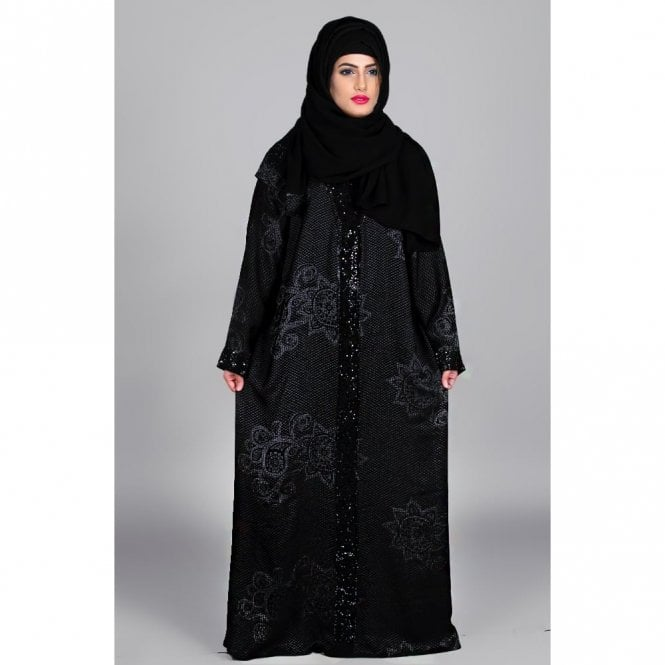 Umbrella Cut Abaya ML 31459