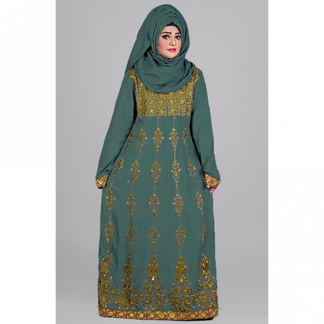 Gown/Jilbab ML 31438