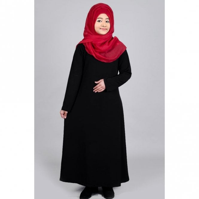 Children Abaya ML 31484 ITY Febric (Stretchy)