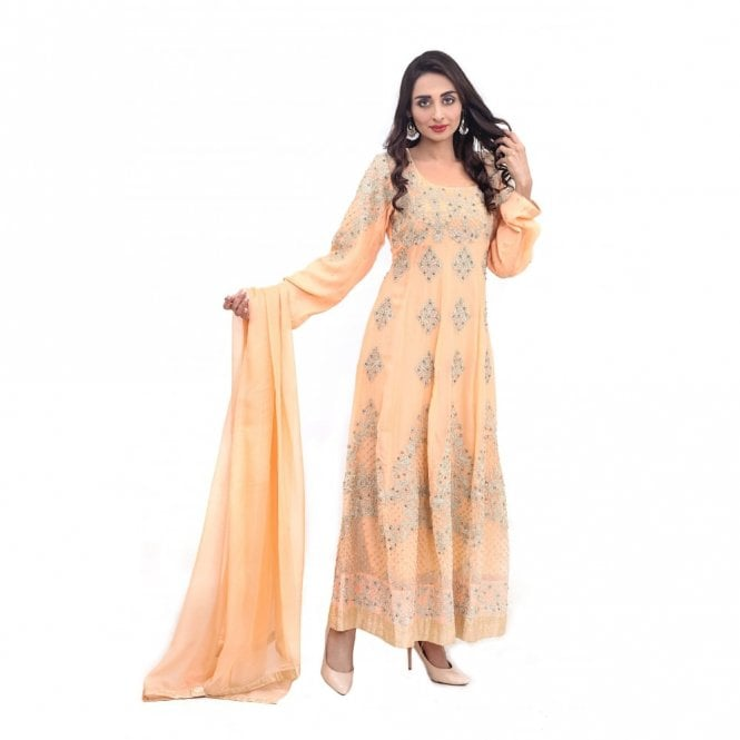 Churidar Long Dress Suit ML 11879
