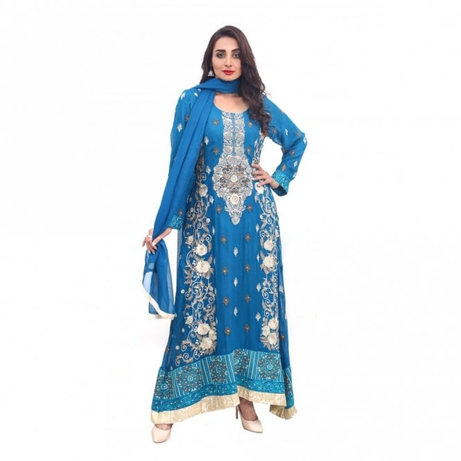 Churidar Long Dress Suit ML 11878