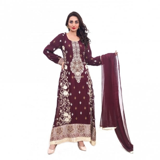 Churidar Long Dress Suit ML 11877