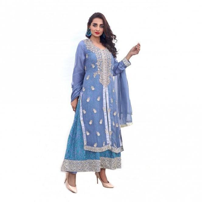 Churidar Long Dress Suit ML 11876