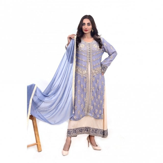 Churidar Long Dress Suit ML 11872