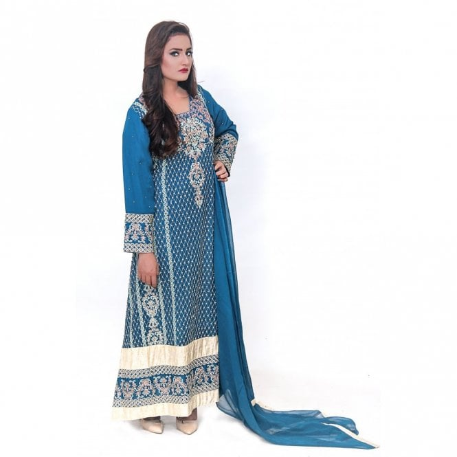 Churidar Long Dress Suit ML 11867