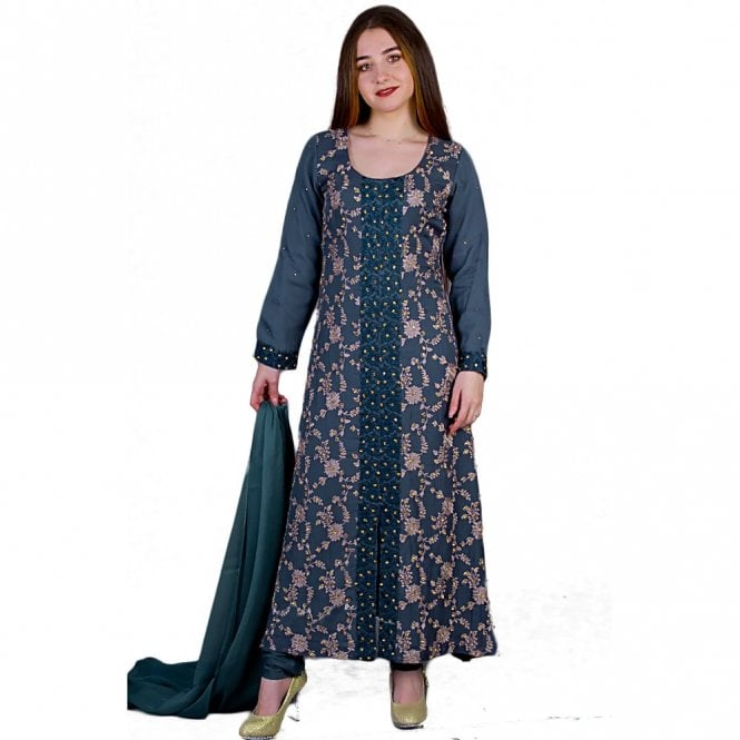 Churidar Long Dress Suit ML 11854