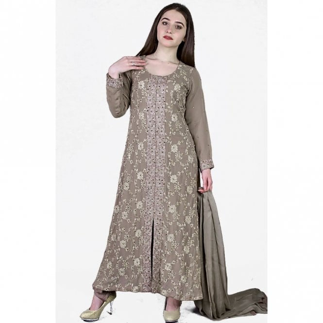 Churidar Long Dress Suit ML 11855