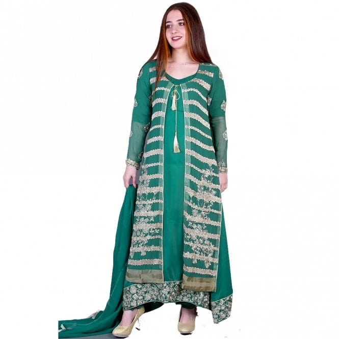 Churidar Long Dress Suit ML 11856