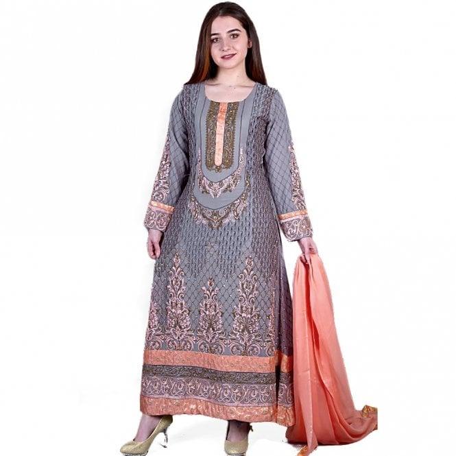 Churidar Long Dress Suit ML 11858