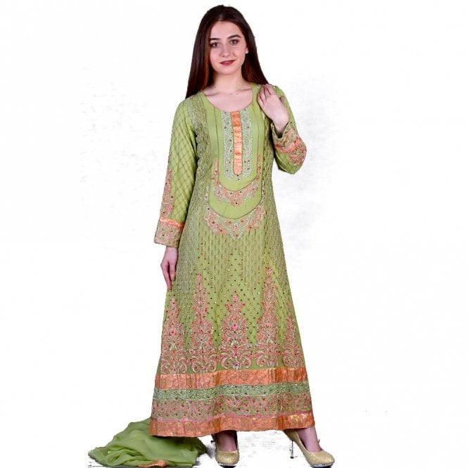 Churidar Long Dress Suit ML 11859