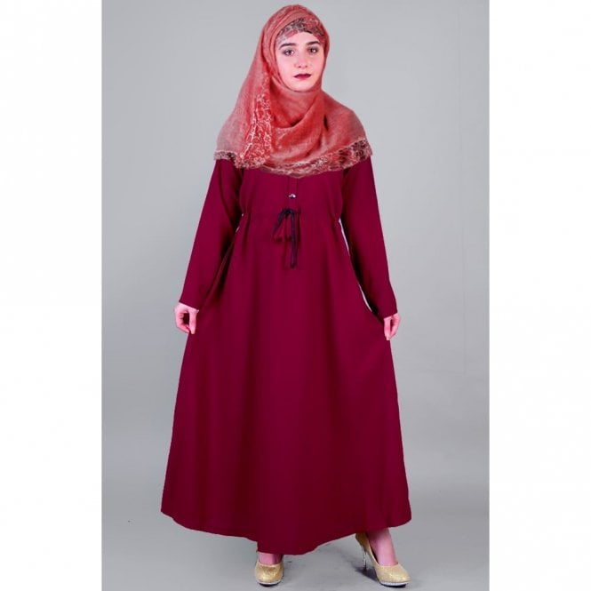 Umbrella Cut Abaya ML 31502