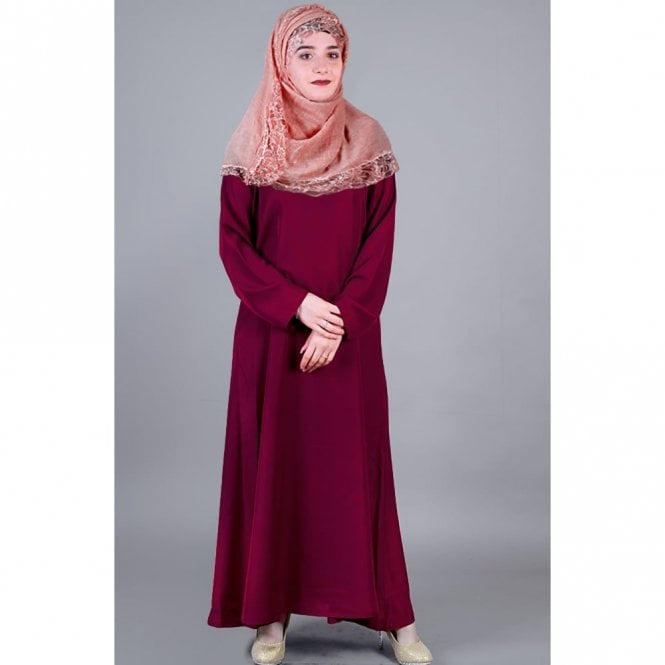 Umbrella Cut Abaya ML 31497