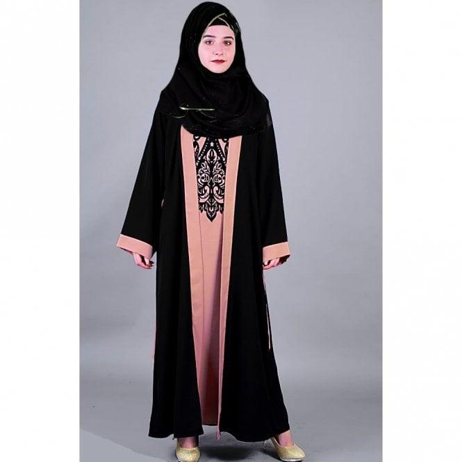 Jacket Style Abaya ML 31487