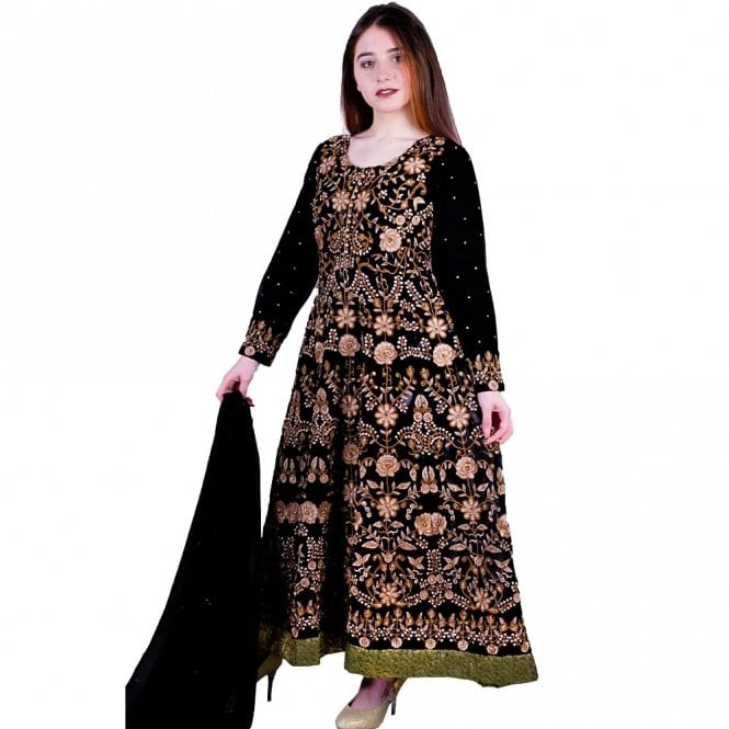 Churidar Long Dress Suit ML 11865