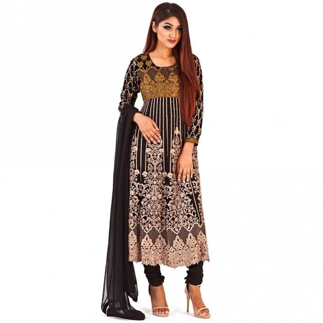 Churidar Long Dress Suit ML 12283