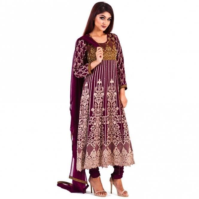 Churidar Long Dress Suit ML 12282