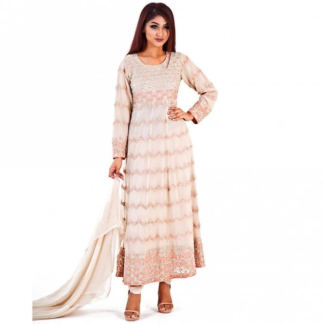 Churidar Long Dress Suit ML 12274