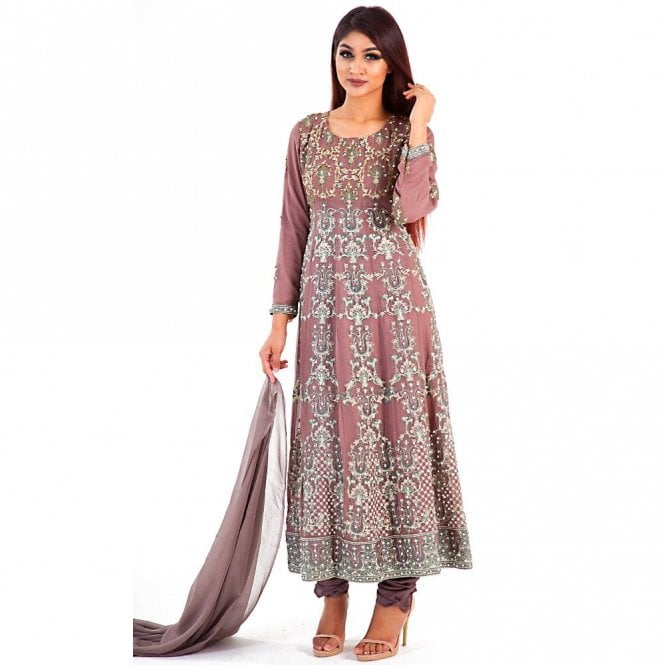 Churidar Long Dress Suit ML 12285