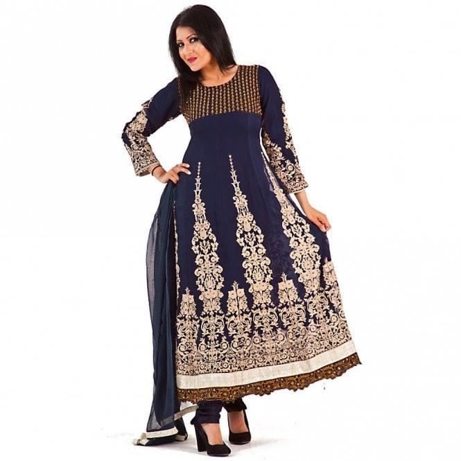 Churidar Long Dress Suit ML 12266