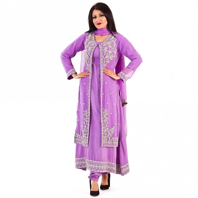 Churidar Long Dress Suit ML 12276