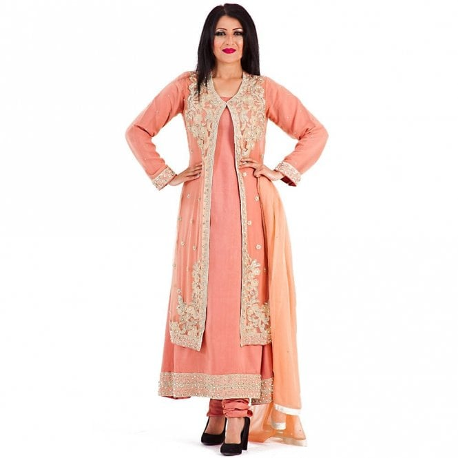 Churidar Long Dress Suit ML 12277