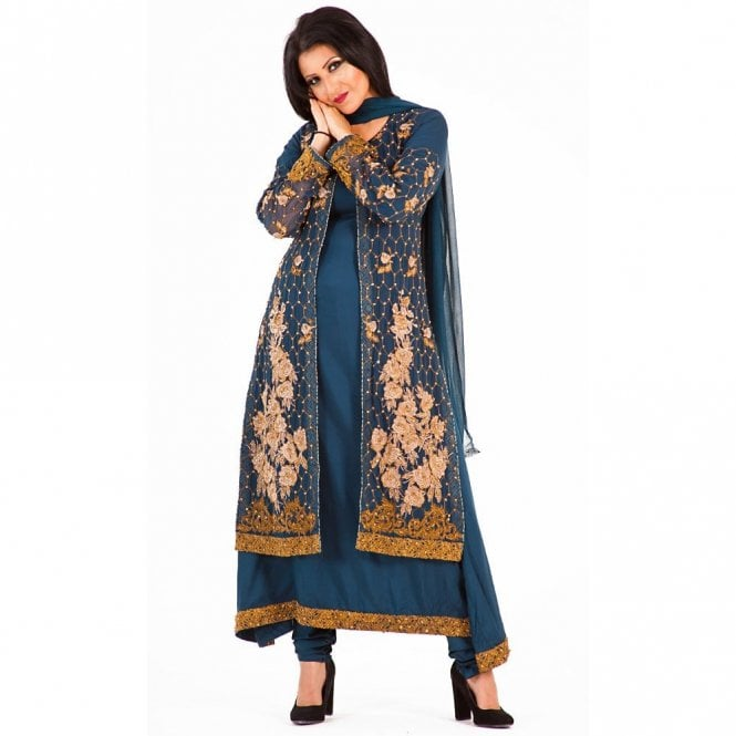 Churidar Long Dress Suit ML 12268