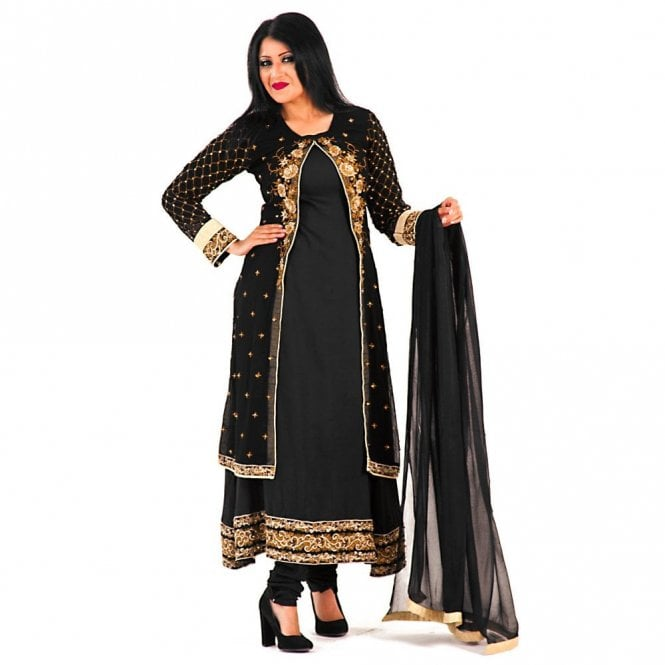 Churidar Long Dress Suit ML 12281