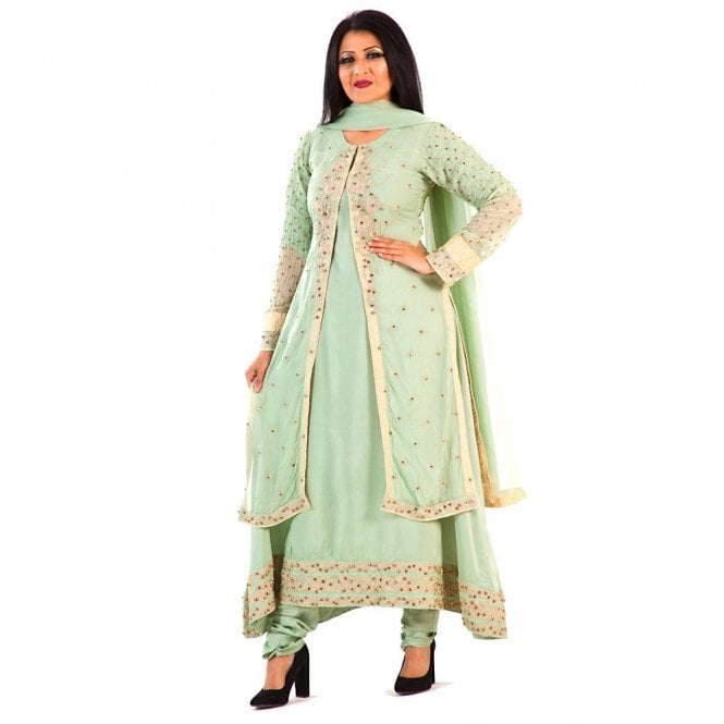Churidar Long Dress Suit ML 12280