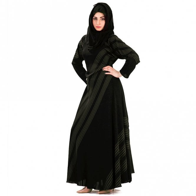 Umbrella Cut Abaya ML 31540