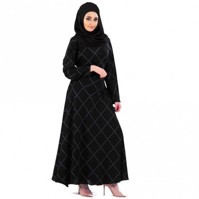 Umbrella Cut Abaya ML 31546