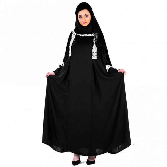 Umbrella Cut Abaya ML 31526